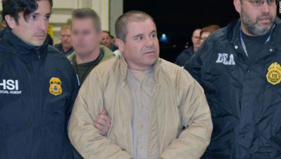 Video toont El Chapo net na zijn arrestatie (VIDEO)