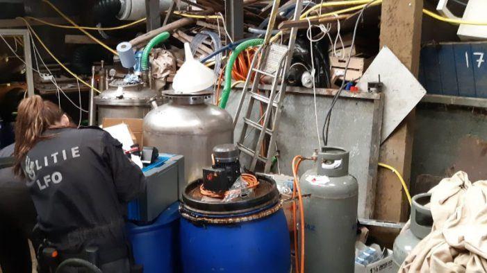 Vier Nederlanders in België veroordeeld om professioneel drugslab