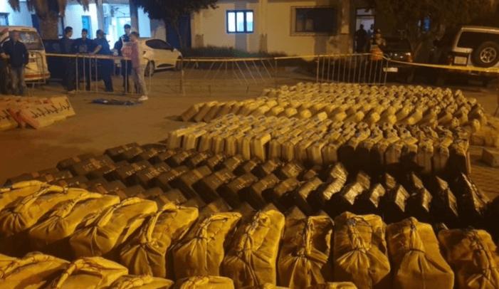 12 ton hasj onderschept in Marokko
