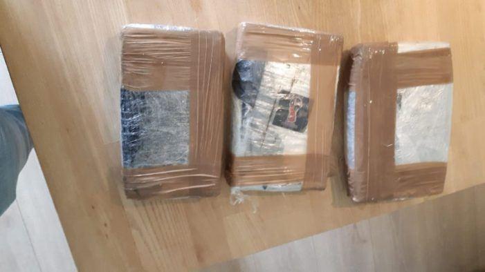 Cocaïne aan boord zeeschip in haven IJmuiden
