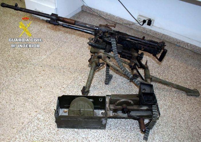 Nederlands stel gepakt met wapenarsenaal in Spanje