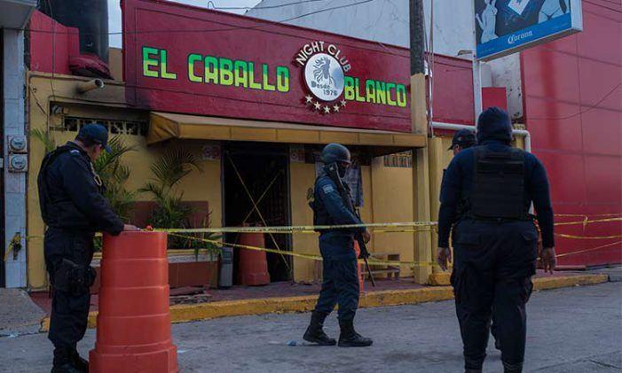 Mexico: 27 doden bij brandstichting in bar