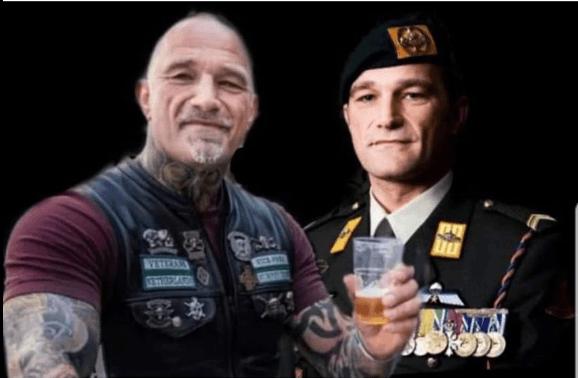 Militair op non-actief door 'banden' met Hells Angels