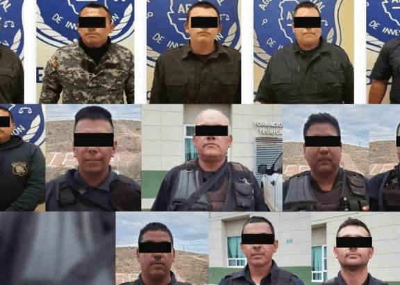 Compleet Mexicaans politiekorps opgepakt