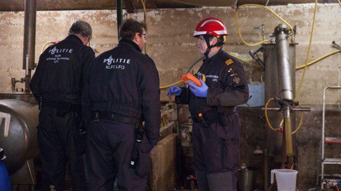 Politie valt Brabants drugslab binnen