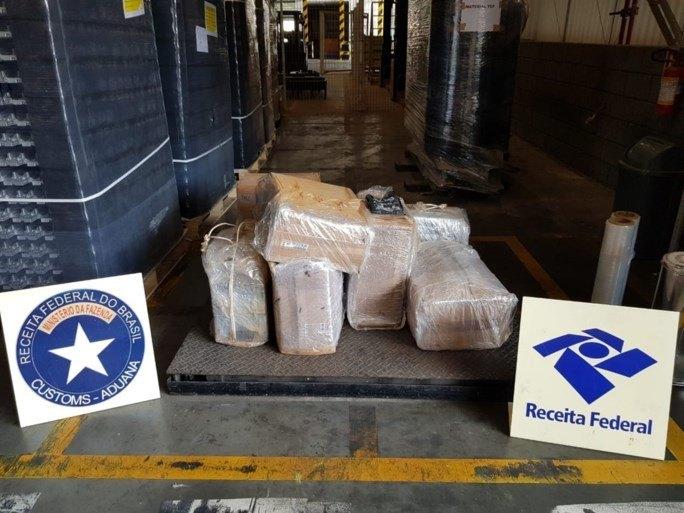 Ruim twee ton cocaïne voor Antwerpse haven onderschept