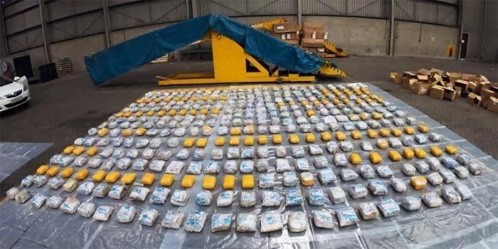 398 kilo heroïne bestemd voor Antwerpen onderschept