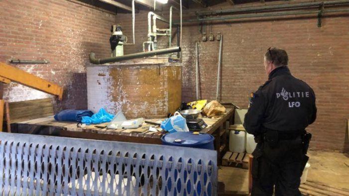 Aantal dumpingen drugsafval neemt af