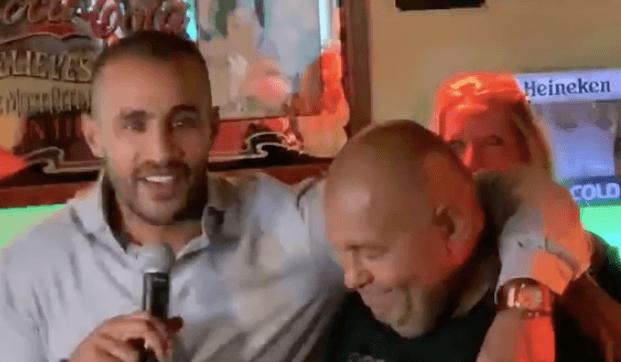 Badr Hari: 'Hij blijft een vriend voor de rest van mijn leven' (VIDEO)
