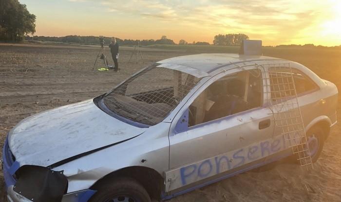 Vier gewonden nadat racewagen publiek inrijdt in Leende