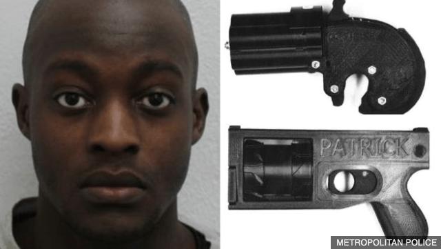 3 jaar cel voor werkend wapen uit 3D-printer