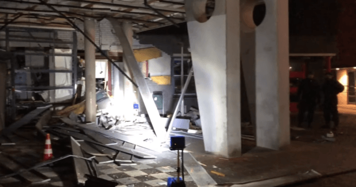 Dierenkliniek Spijkenisse gesloten na plofkraak (VIDEO)