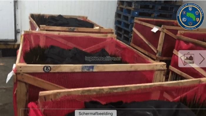 Costa Rica: 250 kilo cocaïne voor Nederland gepakt