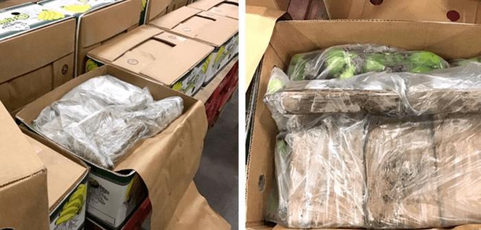 1,2 ton cocaïne in Vlissingen gepakt