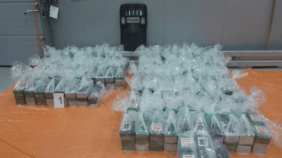 800 kilo coke in Rotterdamse haven gevonden