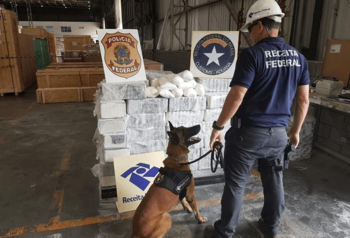 1300 kilo coke op weg naar Rotterdam gepakt in Brazilië