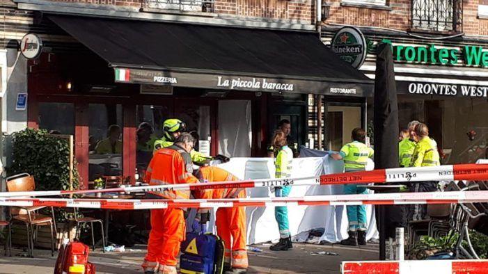 'Drie aanhoudingen voor aanslag op Amsterdamse Joego'