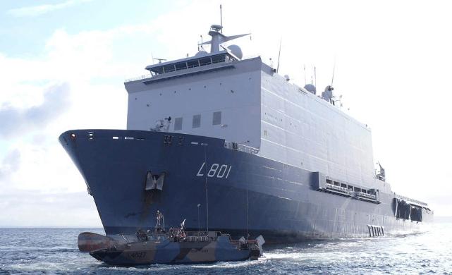 Marechaussee vindt nieuwe partij drugs op marineschip