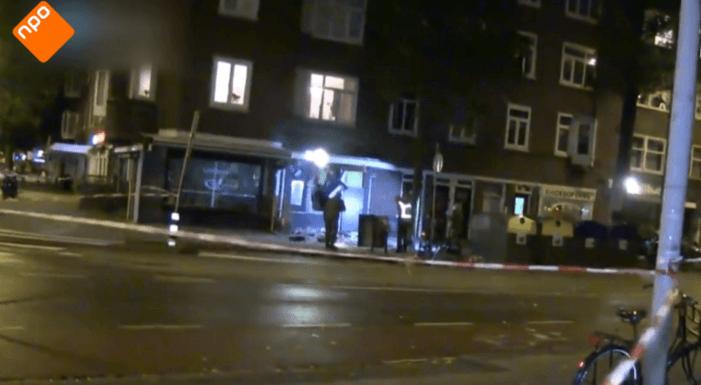 Plofkraak in Amsterdam gefilmd (VIDEO)