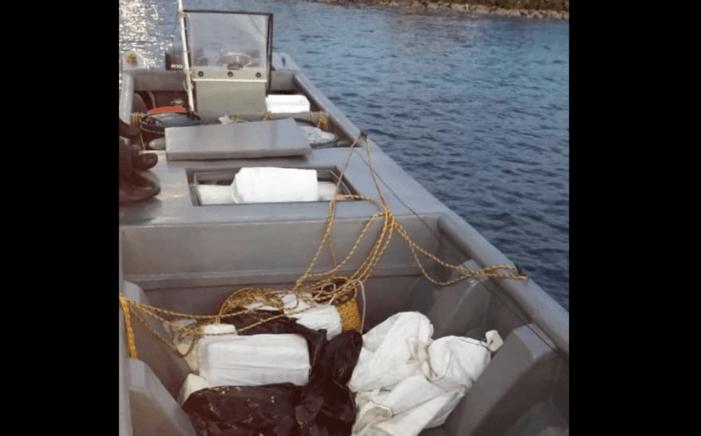 Mega-zending cocaïne bij Aruba onderschept