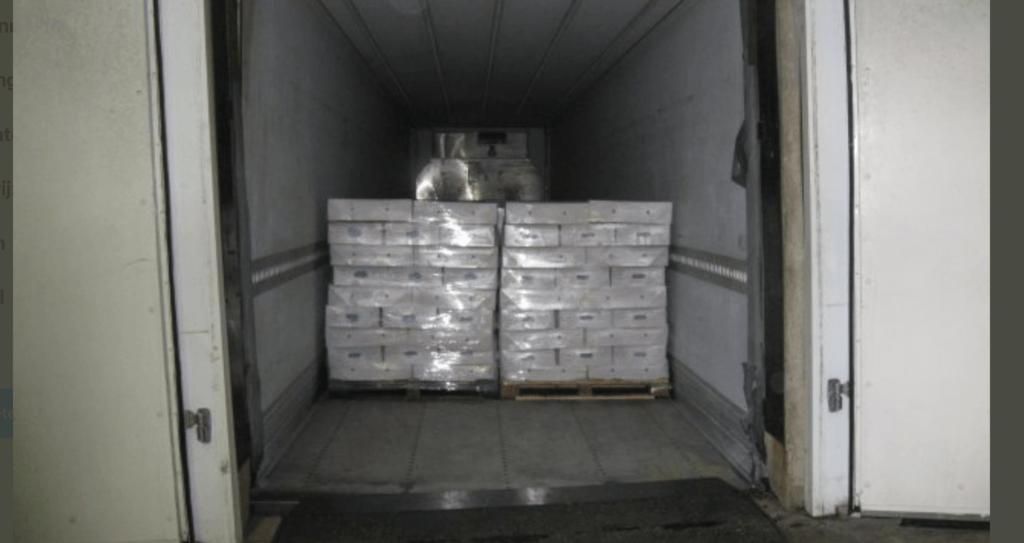Britten pakken cocaïne op veerboot uit Hoek van Holland - Crimesite