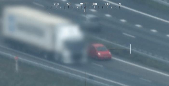 Coke-vrachtwagen in beeld (VIDEO)