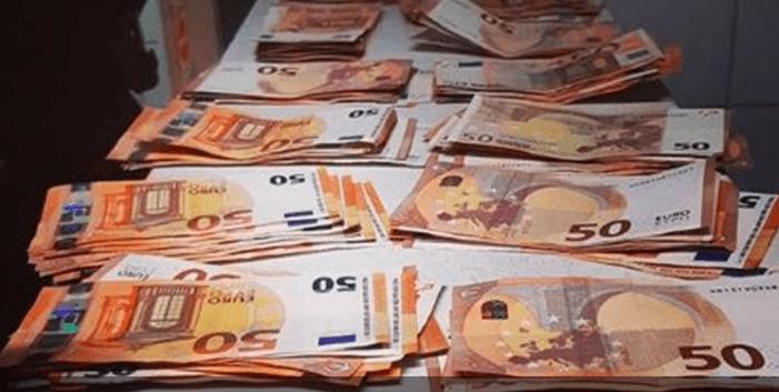 Man na achtervolging aangehouden met 12.000 euro cash