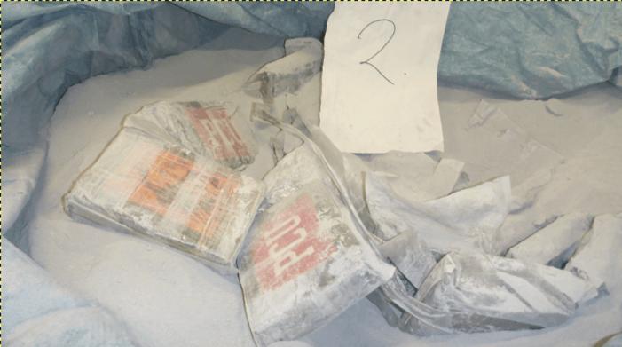 Cocaïne uit Brazilië moest naar Hoogvliet