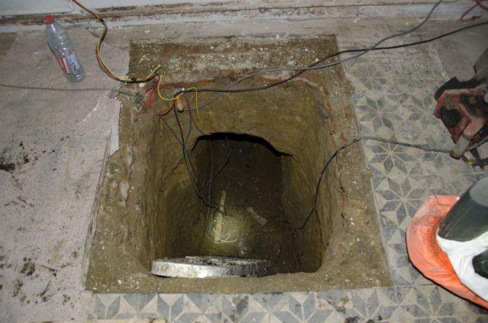Dit was de tunnel van de Antwerpse kluizenkraak