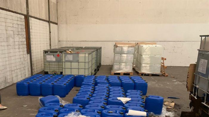 OM: grote handelaar in drugsgrondstoffen opgepakt (UPDATE)