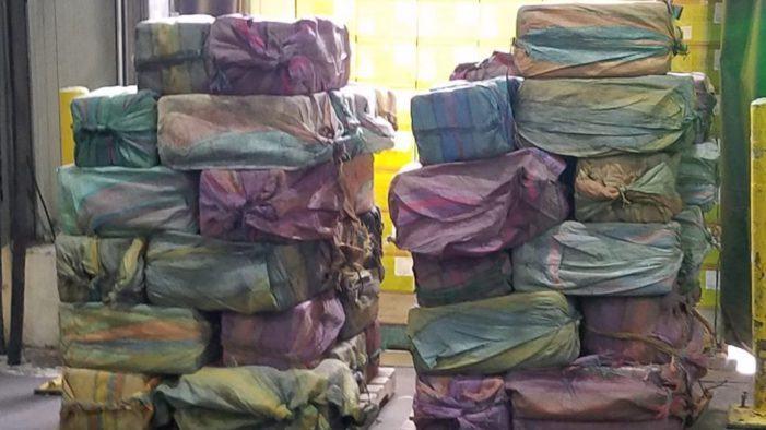 Ecuador: ruim een ton cocaïne in Ecuador in beslag genomen