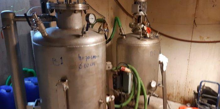 Dubbel-lab in Hapert was goed voor productie xtc én amfetamine (VIDEO)