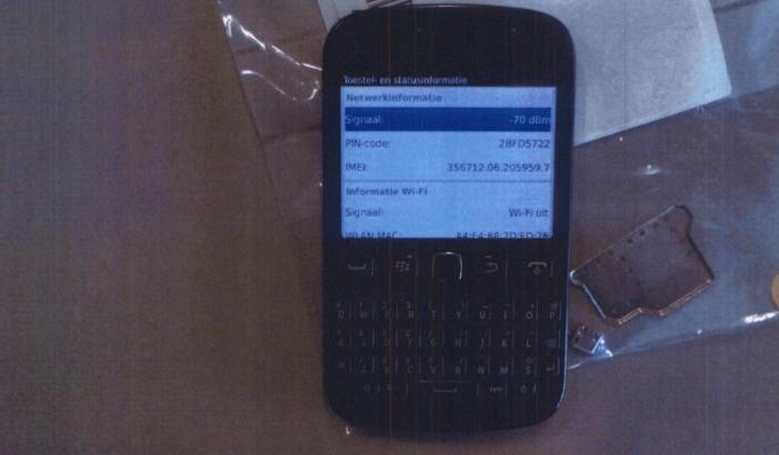 De telefoons van kroongetuige Nabil B. (#2)