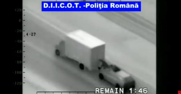 Actie in Roemenië tegen stuntende vrachtwagendieven