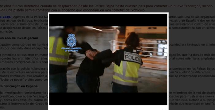 'Drie moordverdachten in Spanje vrijgelaten'