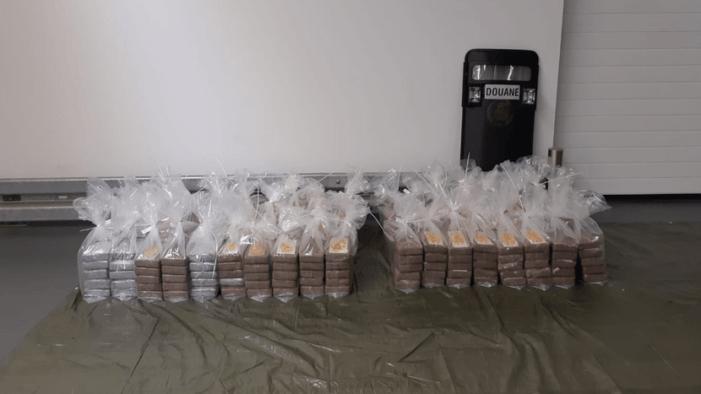 Cocaïne uit Chili in beslag genomen