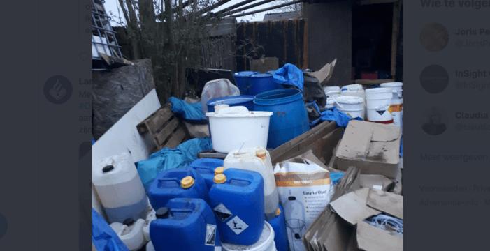 'Boven pand drugslab hingen witte dampen'