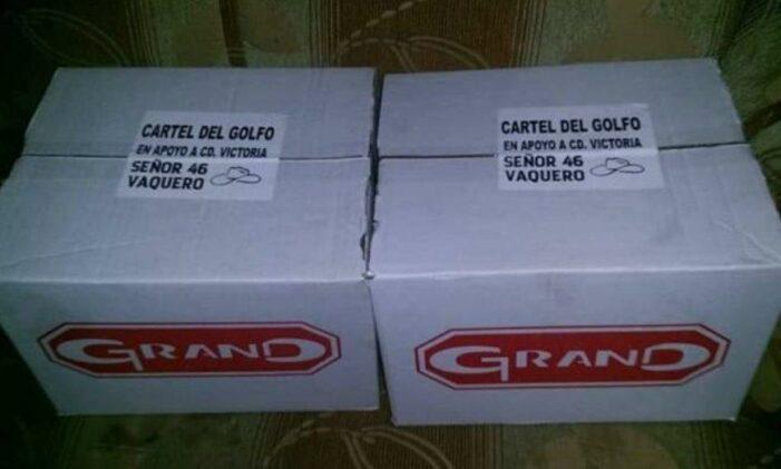 Mexicaanse drugsmafia doet aan corona-liefdadigheid (VIDEO)