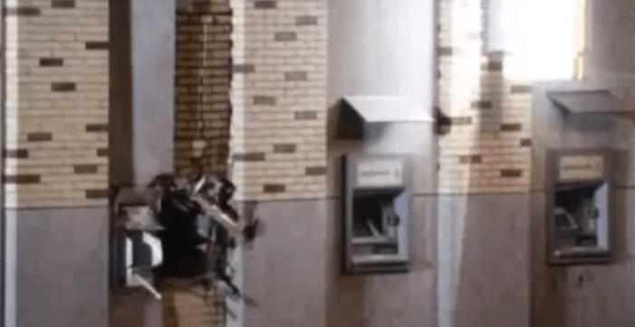 Woningen ontruimd na plofkraak Rabobank Uden