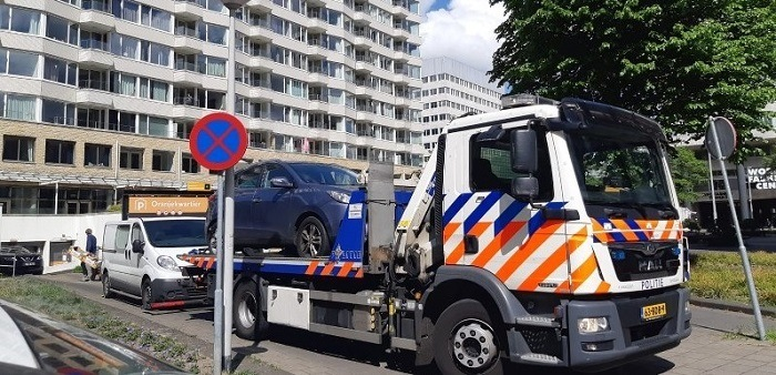 54 kilo coke in auto A'dam-Slotervaart