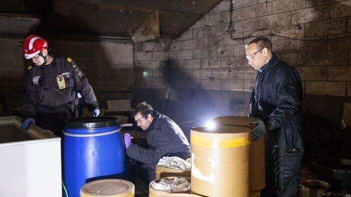Drugslab opgerold in centrum Den Haag