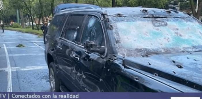 Mislukte aanslag op Mexicaanse OM-topman (VIDEO)