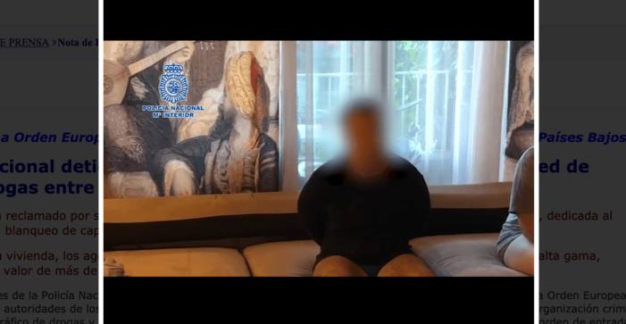 Door Nederland gezochte verdachte in Madrid gearresteerd (VIDEO)