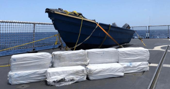 Marine vangt 350 kilo cocaïne