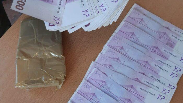Vier Colombianen gearresteerd met cocaïne en geld