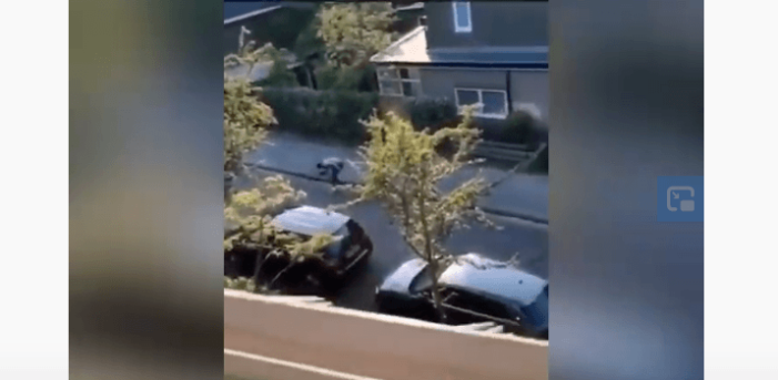 Duo in Leiden opgepakt na klopjacht en gewapende overval (VIDEO)