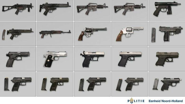 Aanhoudingen in groot wapenonderzoek (UPDATE2 VIDEO)