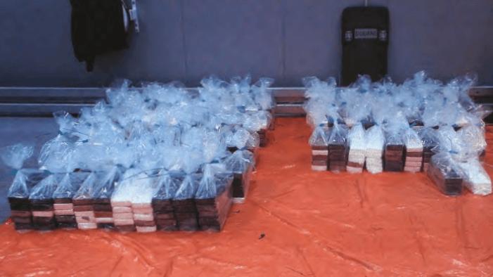 800 kilo cocaïne uit de Dominicaanse Republiek