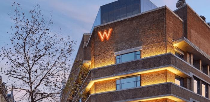 Hotel W Amsterdam meerdere malen beschoten