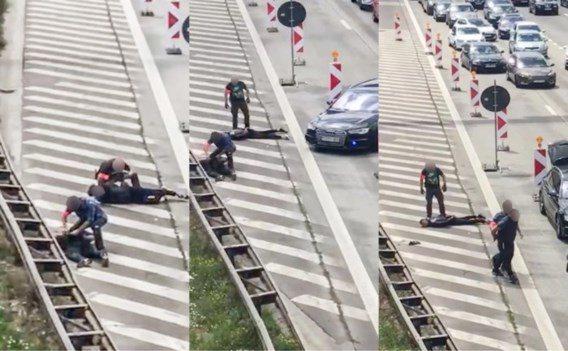 Twee Fransen opgepakt op Antwerpse Ring na ontvoering (VIDEO)